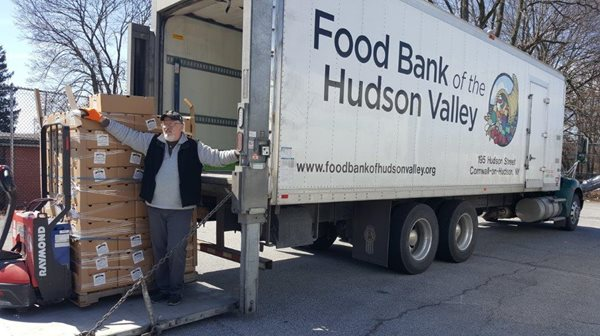 MHV donates to the Food Bank of the Hudson Valley