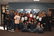 employees wear jeans to support cause