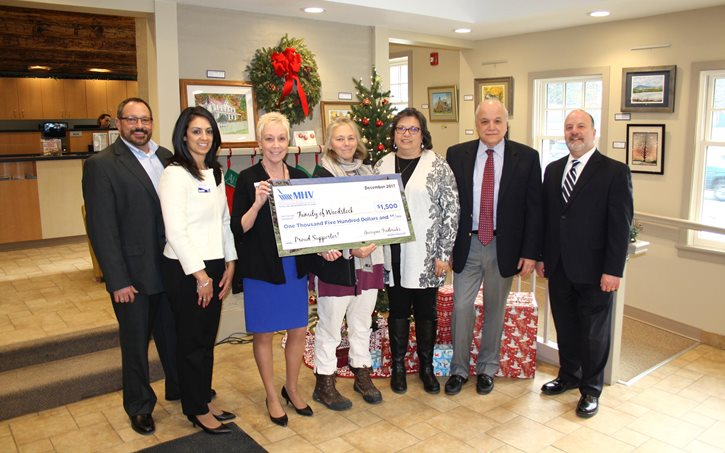 MHV Donates $1,500 to Family of Woodstock article photo
